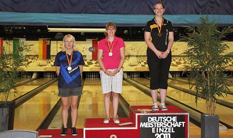 Deutsche Meisterschaft 2011: Birgit Pöppler holt Bronze-Medaille im Einzel
