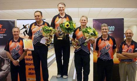 Erich Caspari und Alfred Metz überzeugen beim Flanders Open 2011