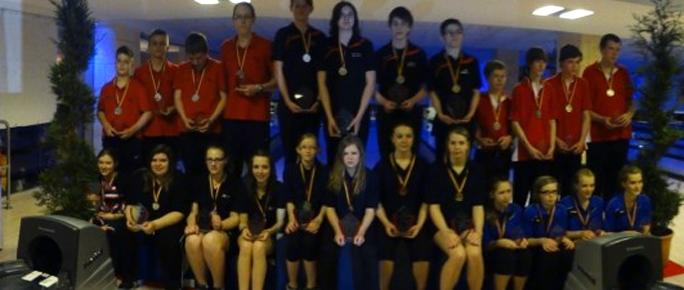 Erfolgreiche Deutsche Meisterschaften B-Jugend für NRW