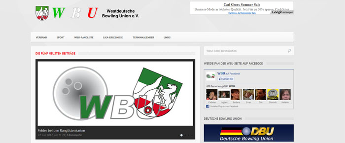 Nur für WBU-Mitglieder: Homepage-Angebot zum Selbstkostenpreis