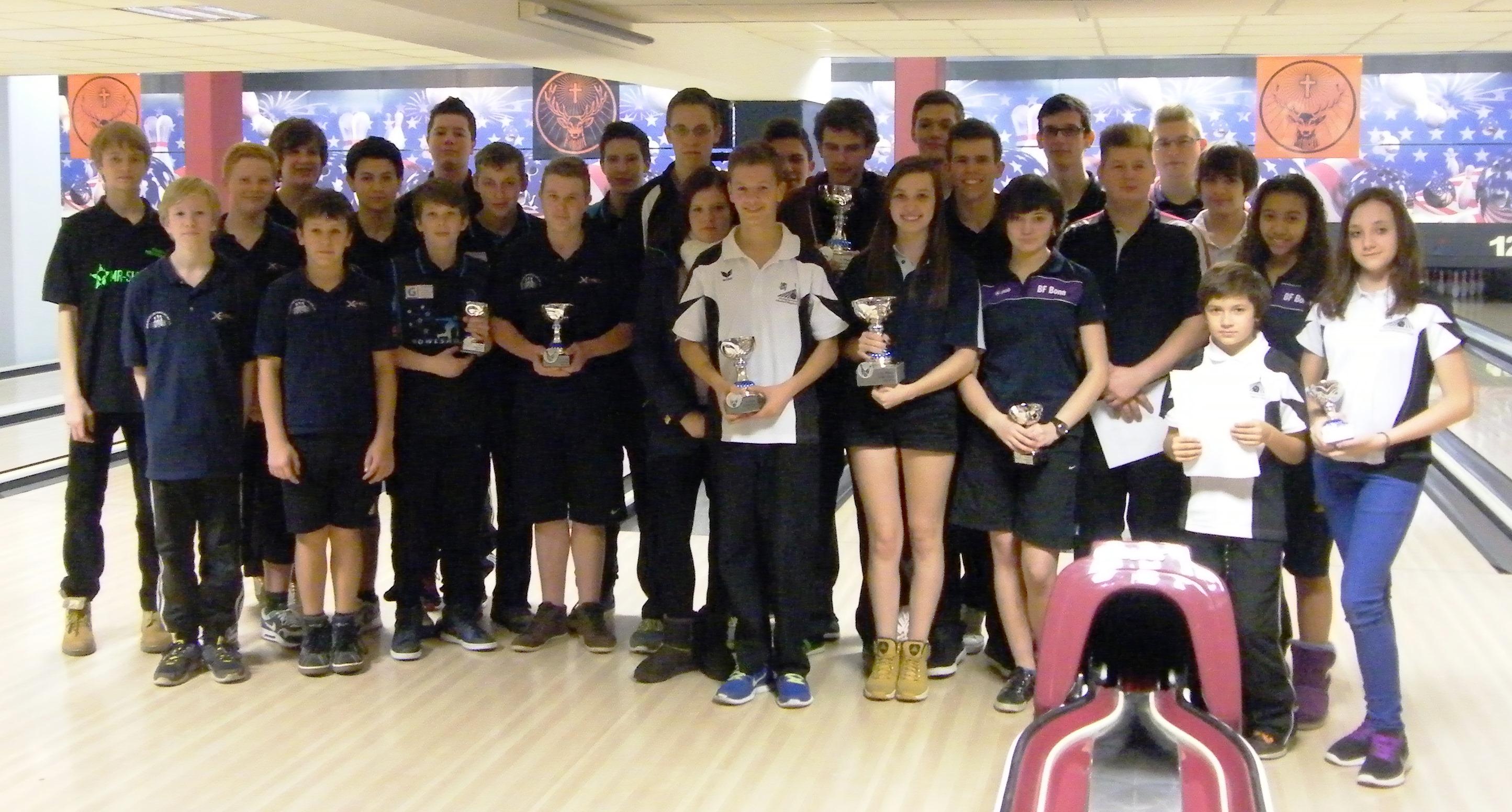 Jugendliga-Finale 2013 im Bowlingcenter Unna