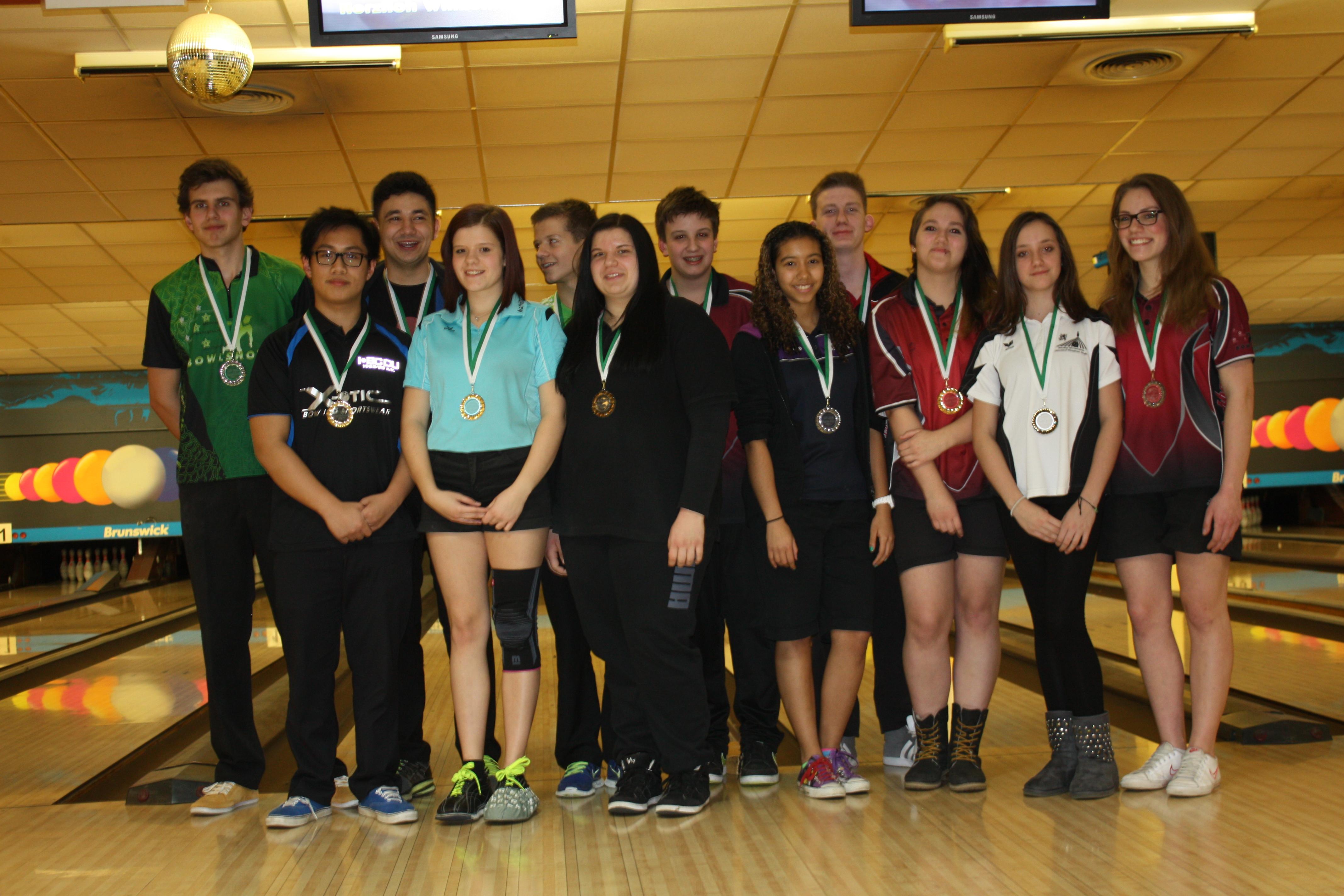 Landesmeisterschaften 2014 Jugend A + B – Endergebnisse