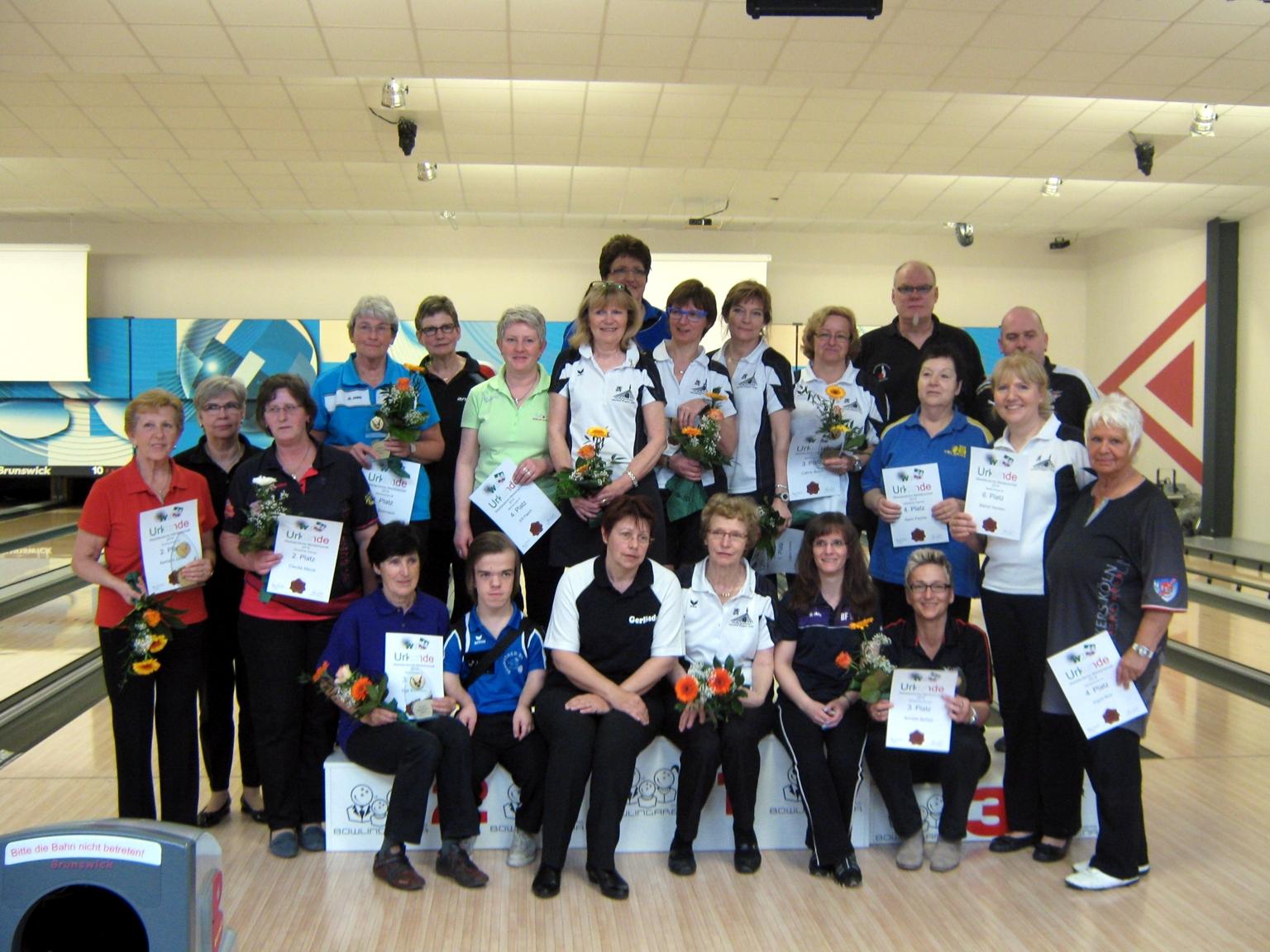 Endergebnisse LM2014 Senioren Einzel