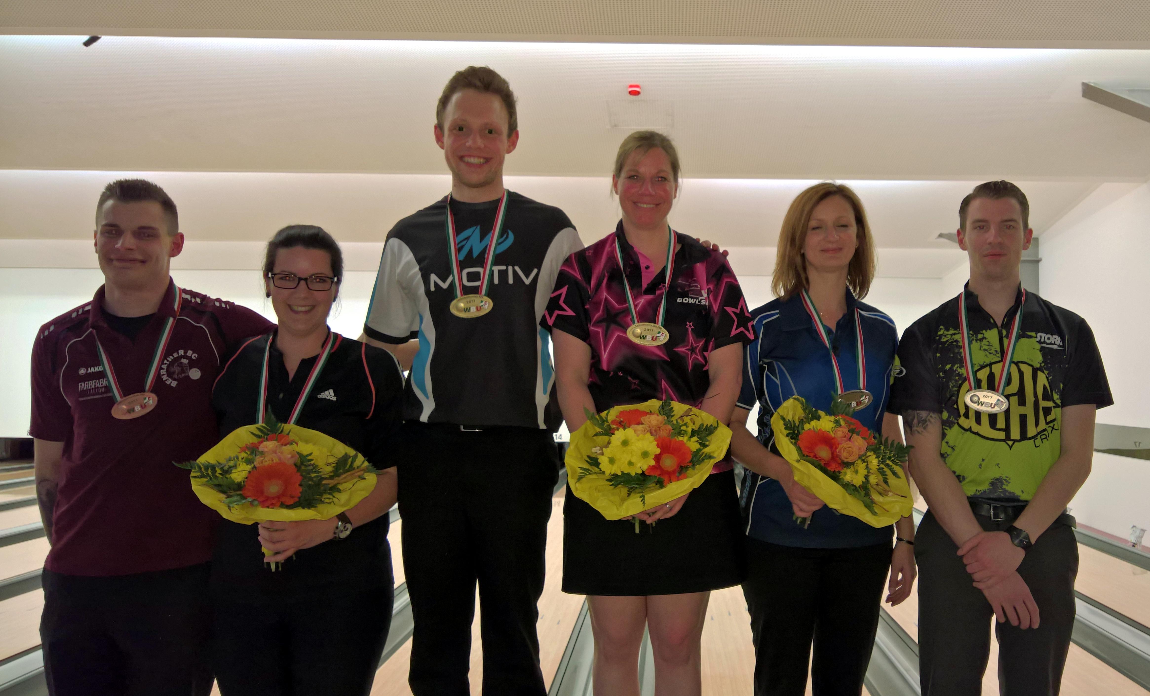 Jolanda Visser und Rene Filor sind Landesmeister 2017