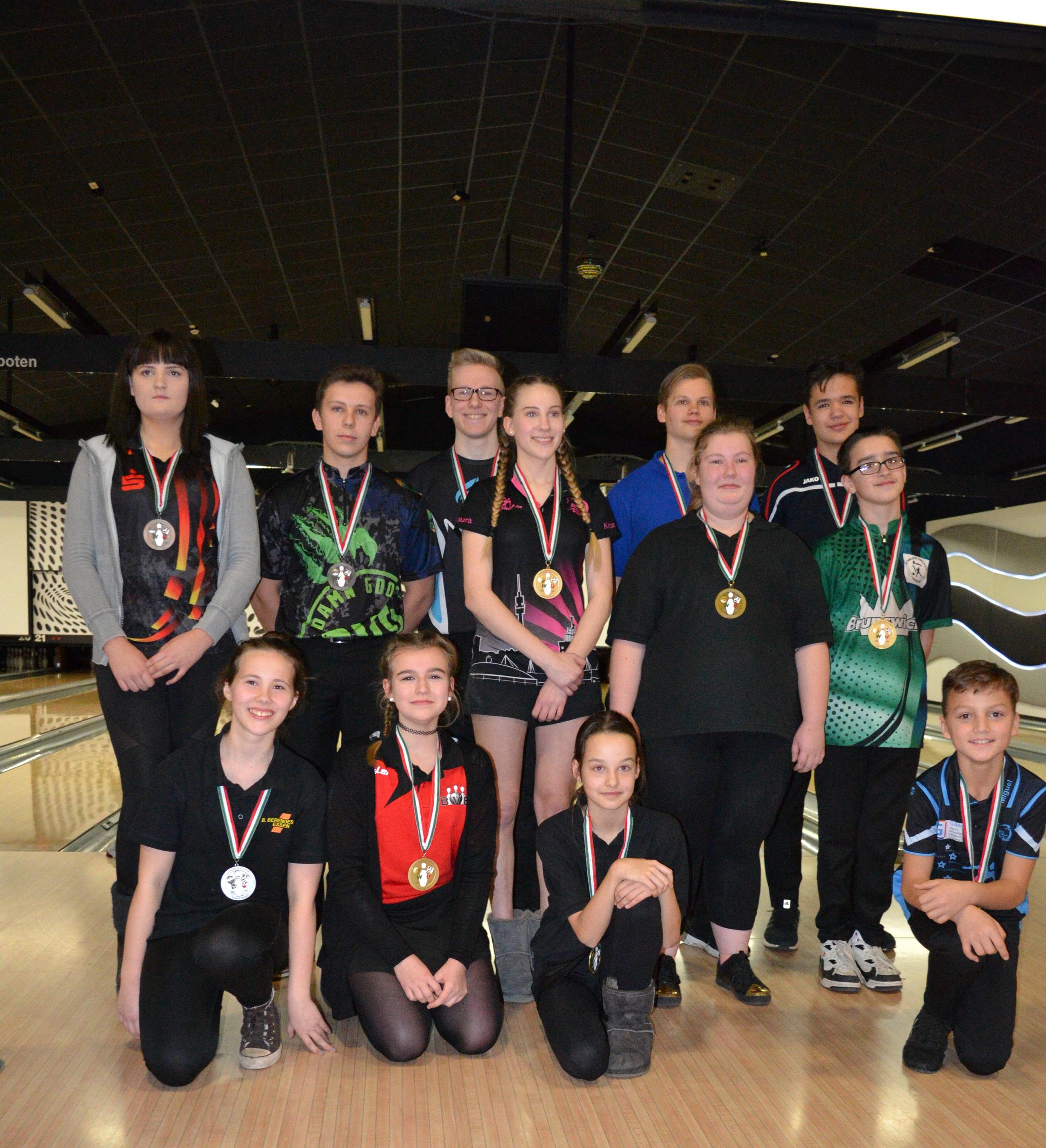 Landesmeisterschaften Jugend Einzel in Münster