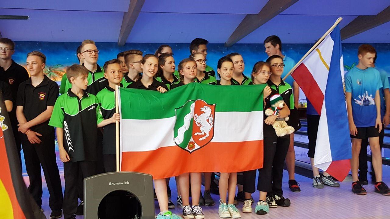Deutsche Meisterschaft der A- und B-Jugend in Unterföhring 1. Tag