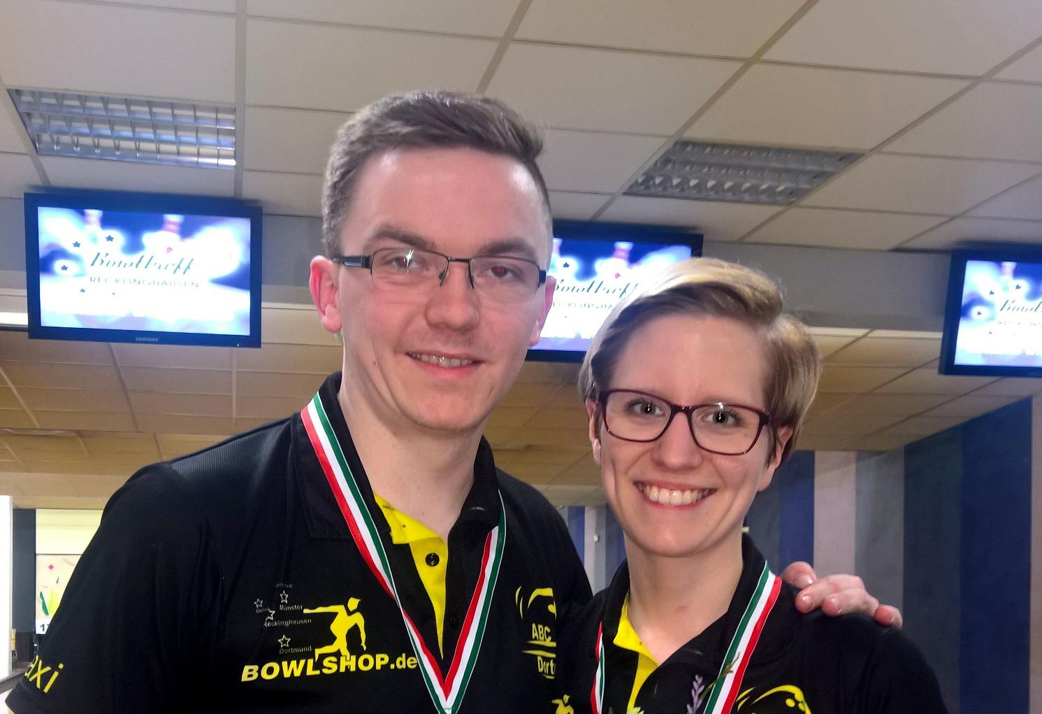 Sabrina Schymanski und Maximilian Fühner gewinnen die WDM Mixed