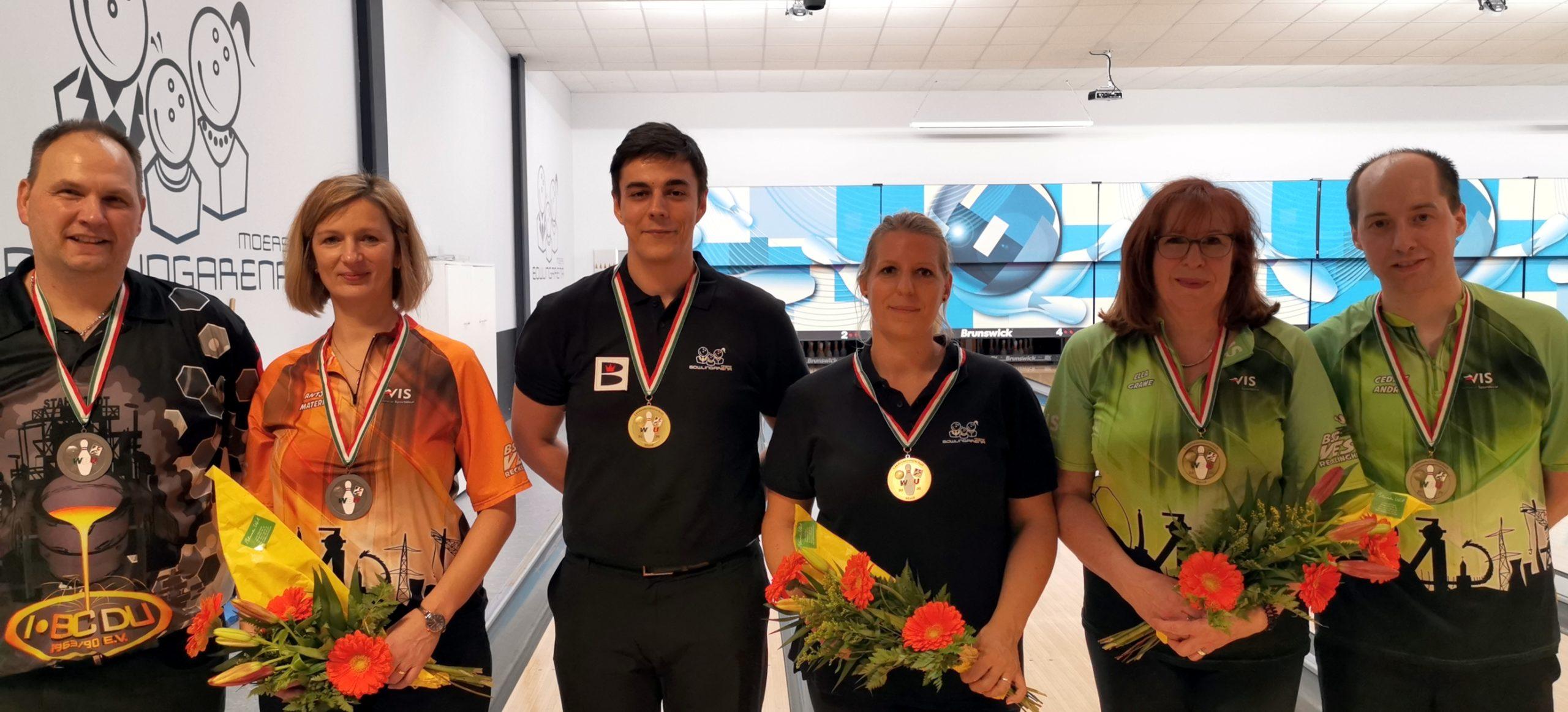 Kerstin Sielaff und Bastian Lange holen sich die Landesmeisterschaft im Mixed